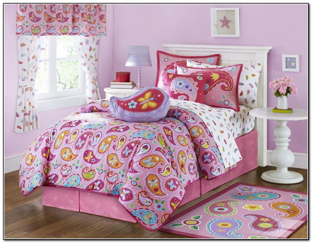 Girls Bedding Sets Full Purple