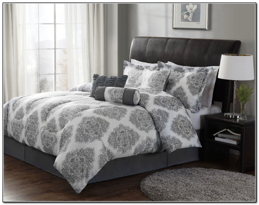Grey White Bedding Sets