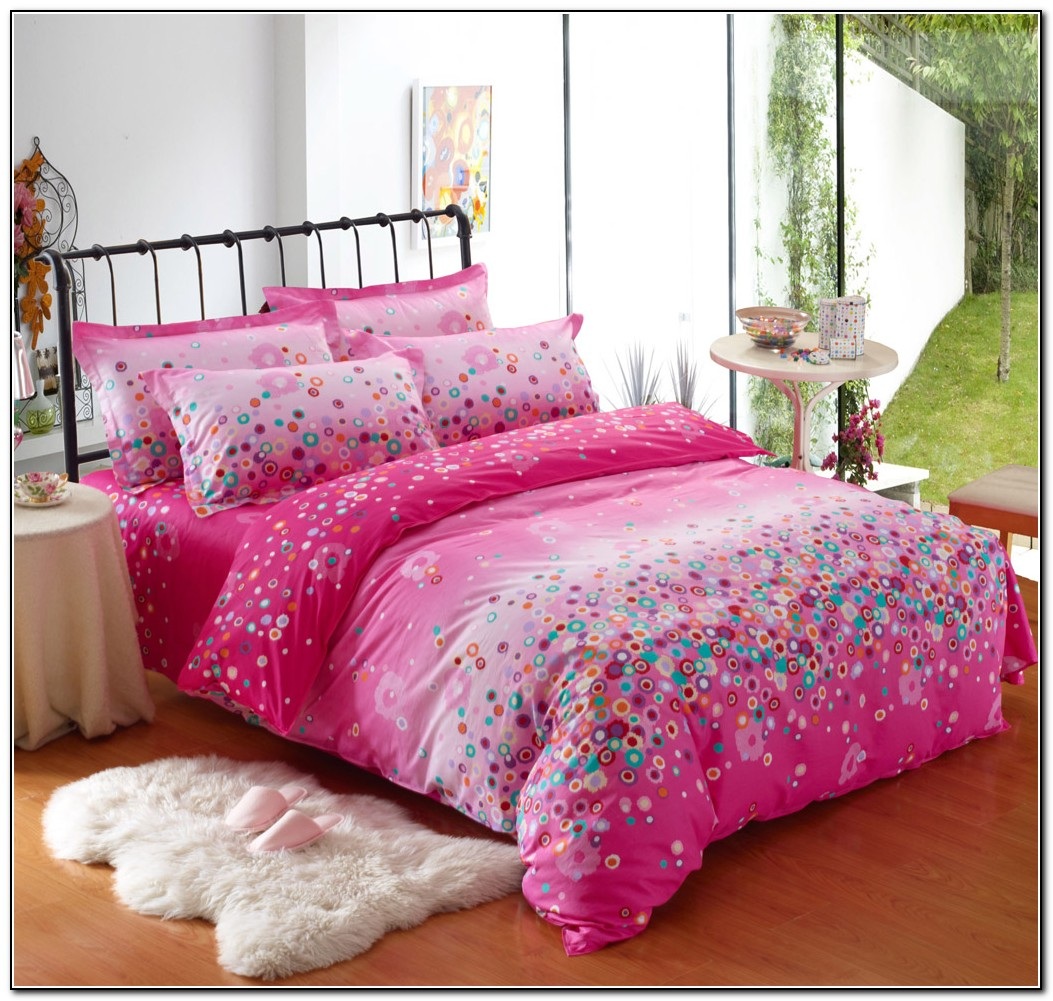 Hot Pink Bedding Sets Queen