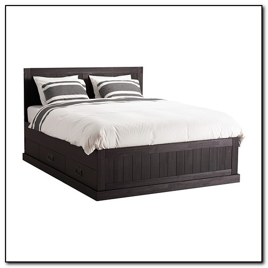 Ikea Queen Bed Frame With Storage