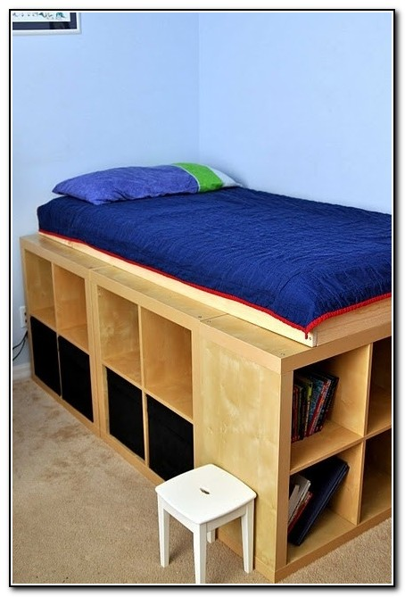 Ikea Storage Bed Hack