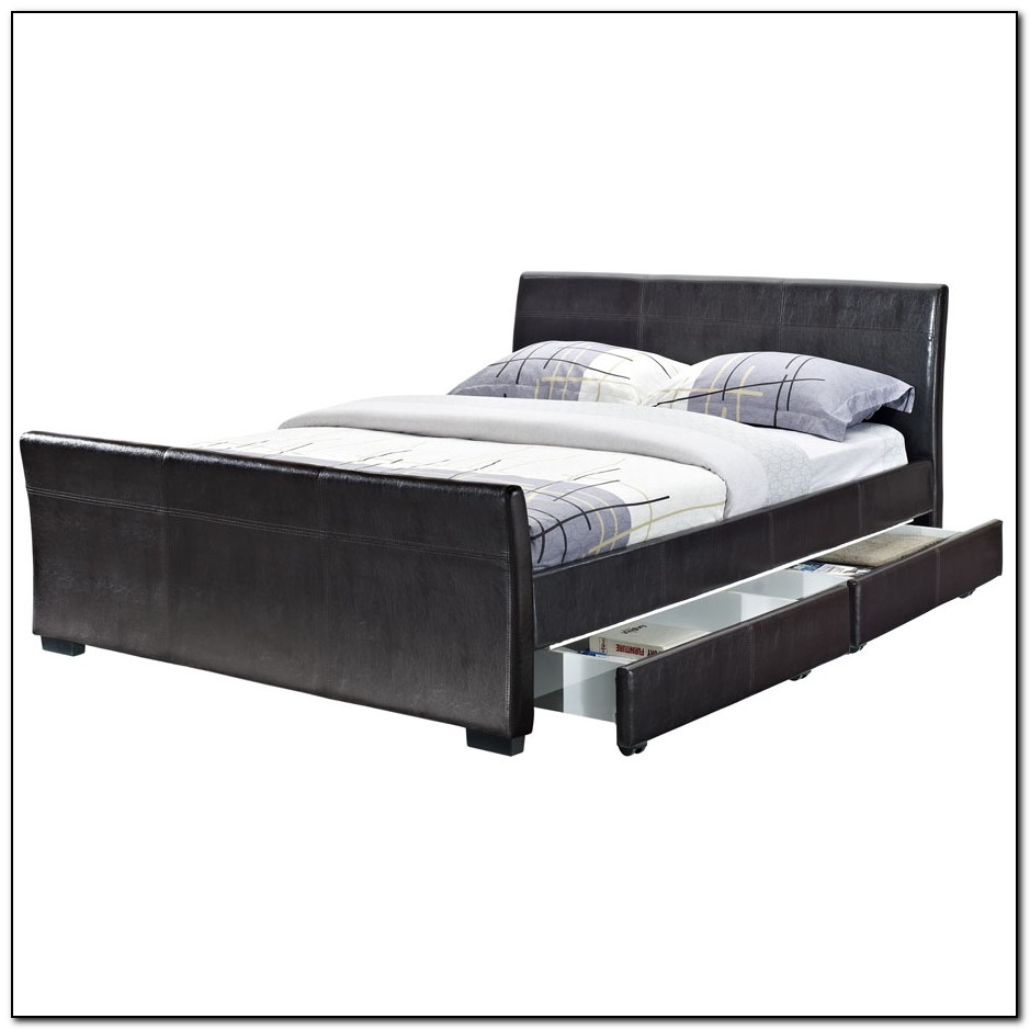 Japanese Bed Frame With Drawers