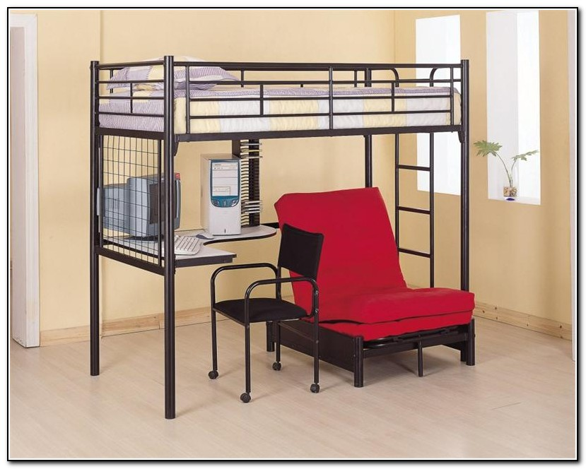 Loft Bunk Bed With Desk Underneath