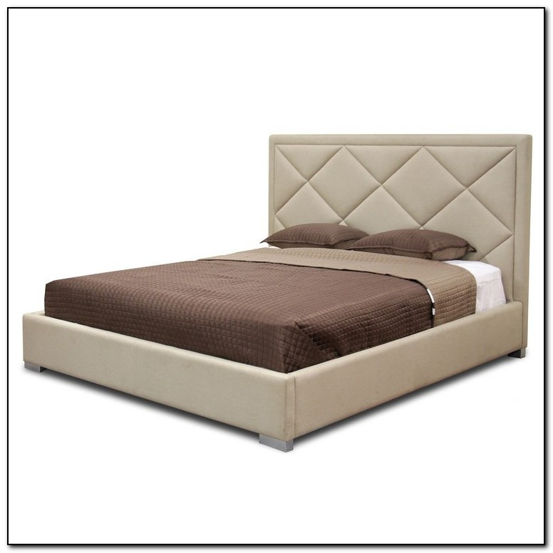 Modern Upholstered King Bed