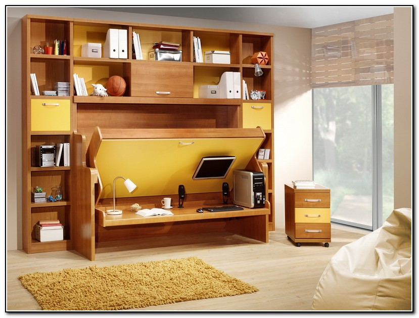 Murphy Bed Desk Plans