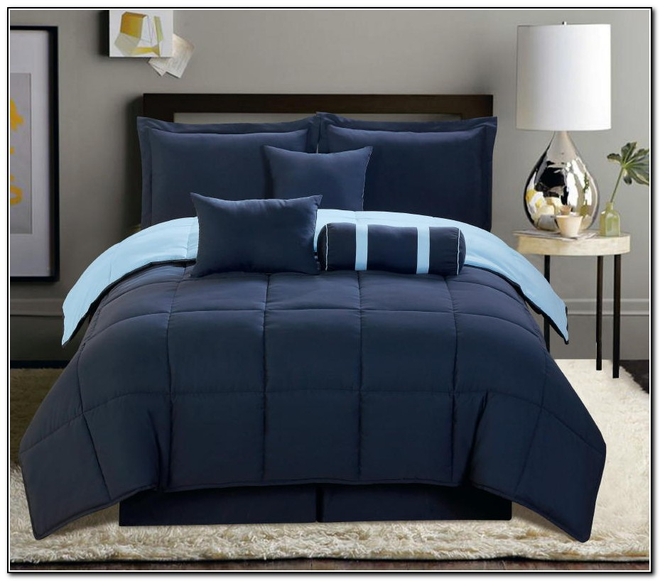 Navy Blue Bedding King