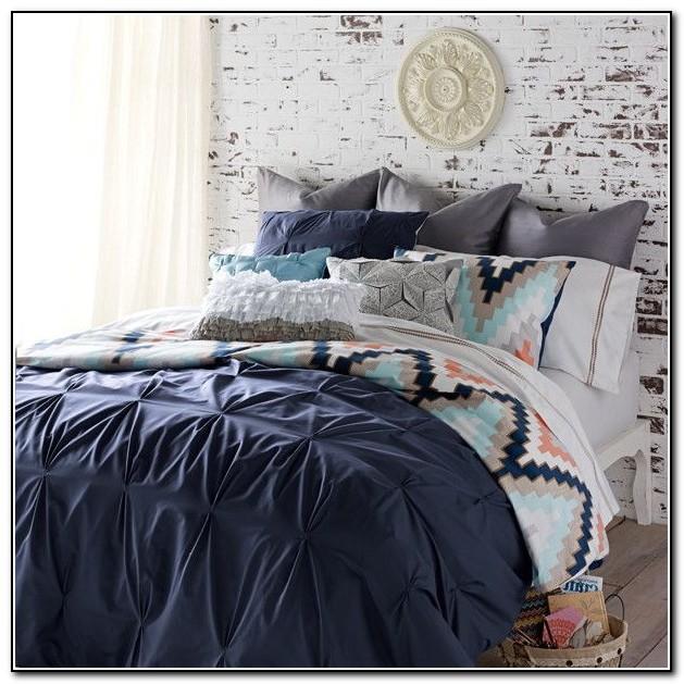 Navy Blue Bedding Sets Queen