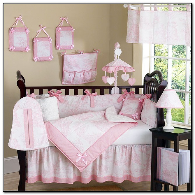 Pink Bedding Sets For Cribs