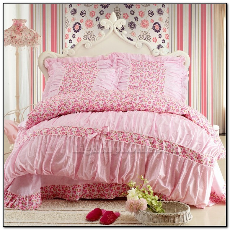 Pink Bedding Sets For Girls