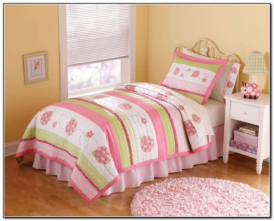Pink Little Girl Bedding