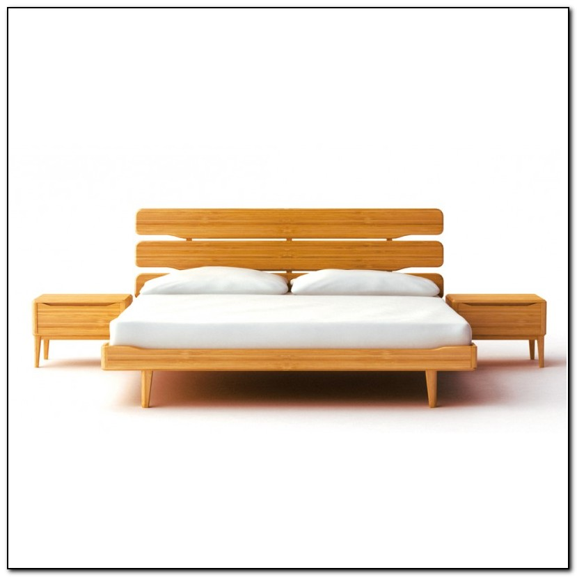 Platform Bed King Size With Drawers