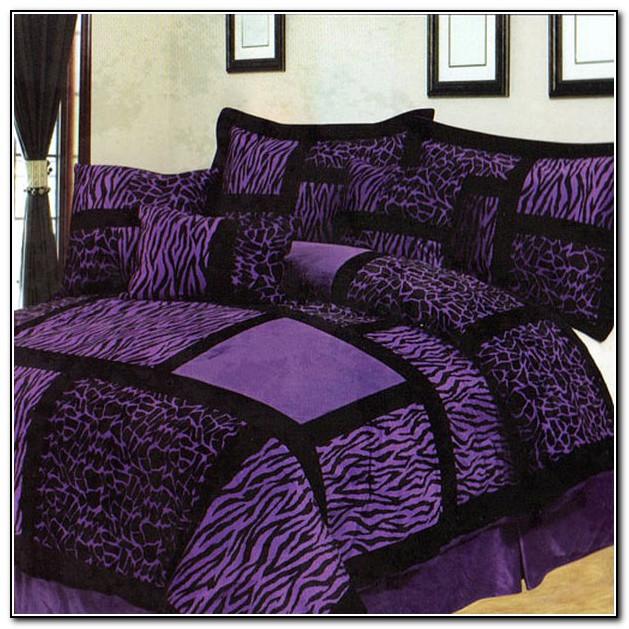 Purple Zebra Bedding Walmart