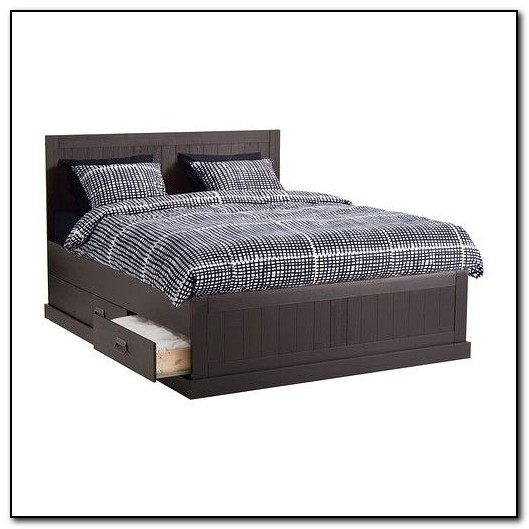 Queen Bed Frame With Storage Ikea