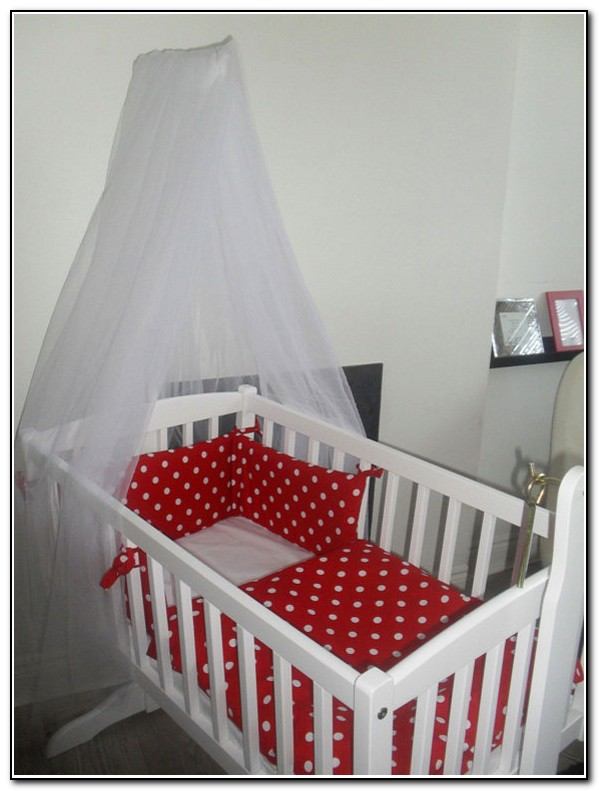 Red And White Crib Bedding