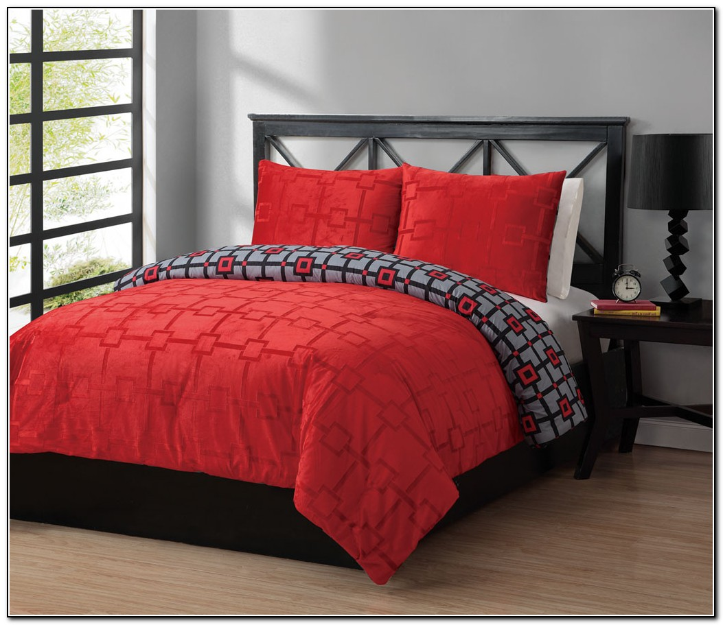 Red Bedding Sets Full