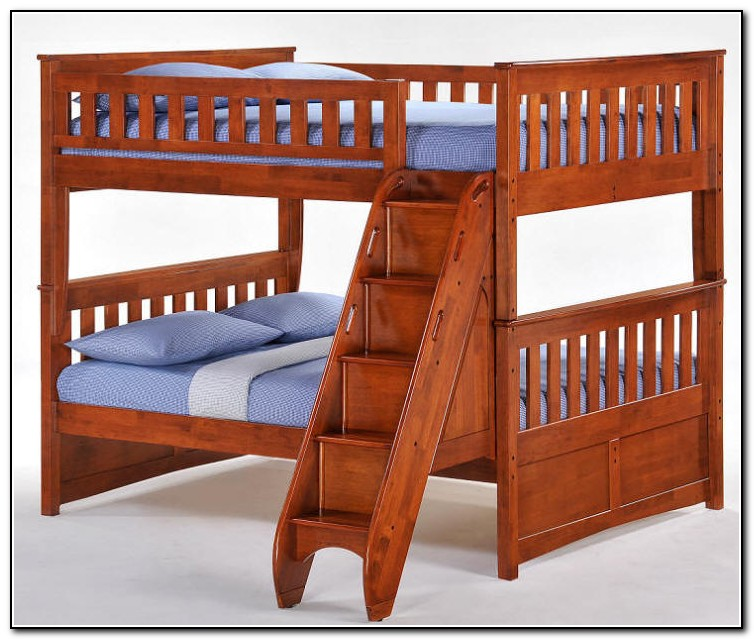Staircase Bunk Bed Full Over Full