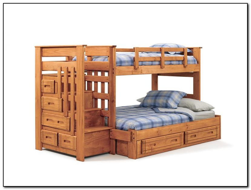 Staircase Bunk Bed Twin Over Full