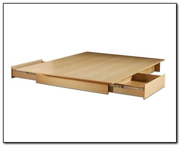 Storage Platform Bed Frame