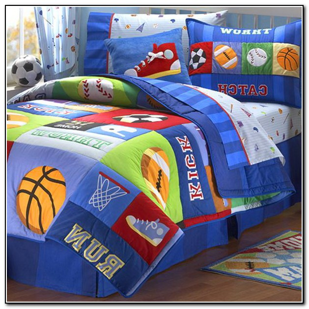 Toddler Boy Bedding Sets
