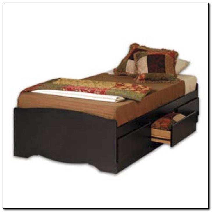 Twin Storage Platform Bed