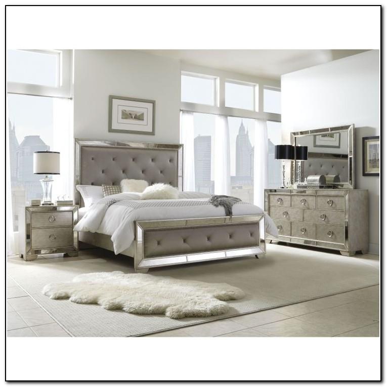 Upholstered King Bedroom Sets