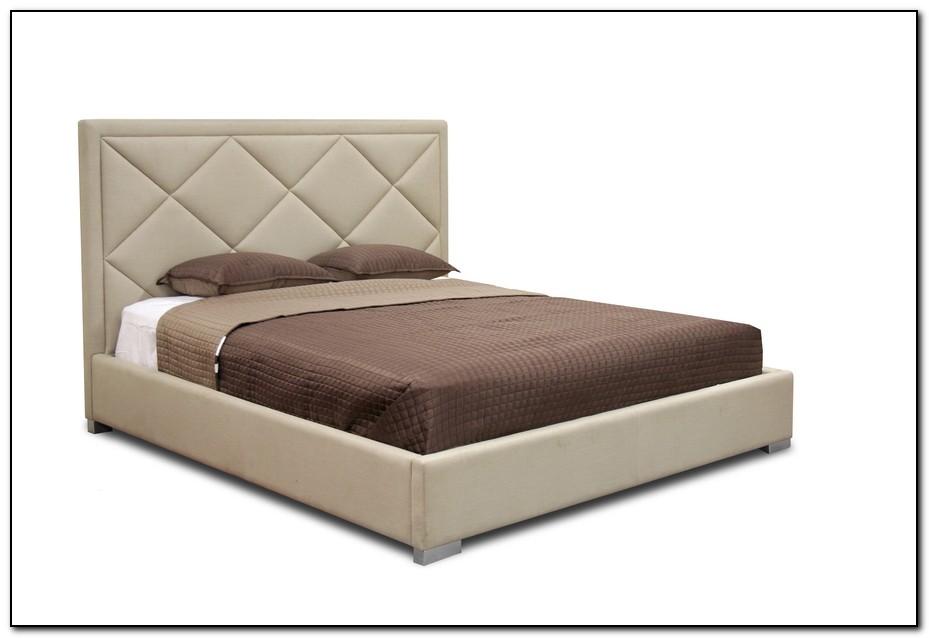 Upholstered Platform Bed King