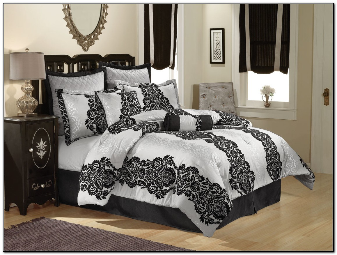 White And Grey Bedding Sets