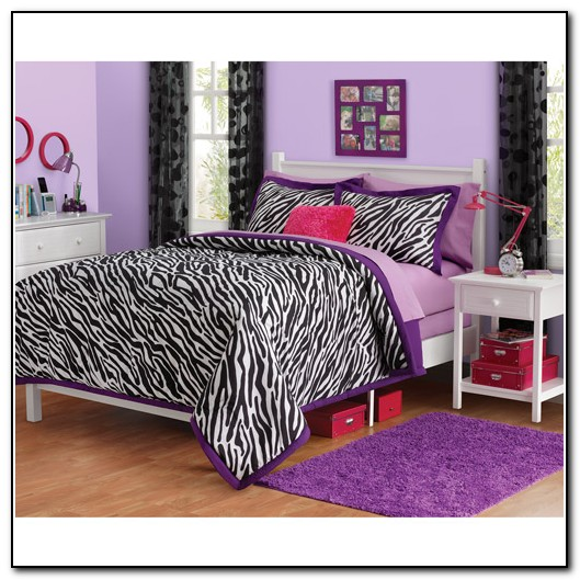 Zebra Bedding Set Full Size