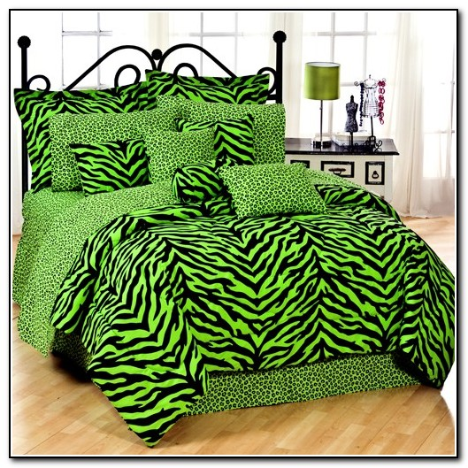 Zebra Bedding Set Twin