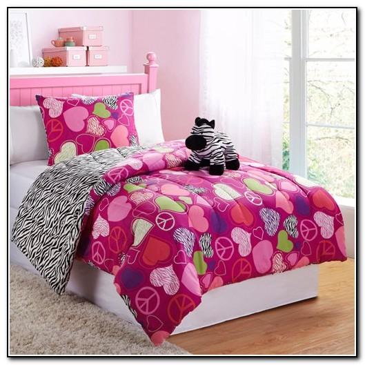 Zebra Bedding Sets For Girls