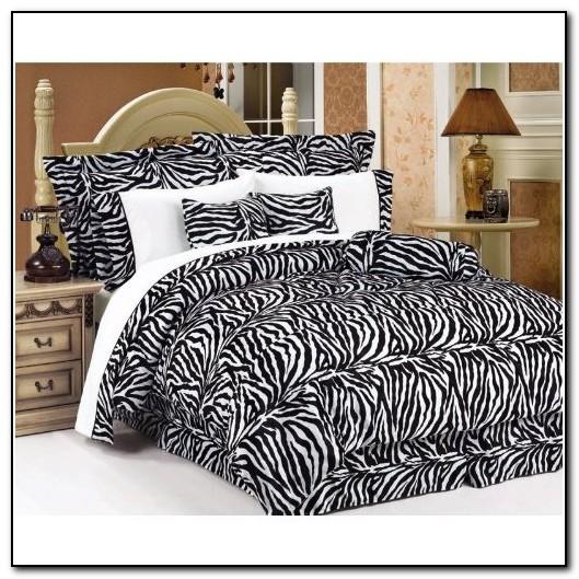Zebra Bedding Sets Full