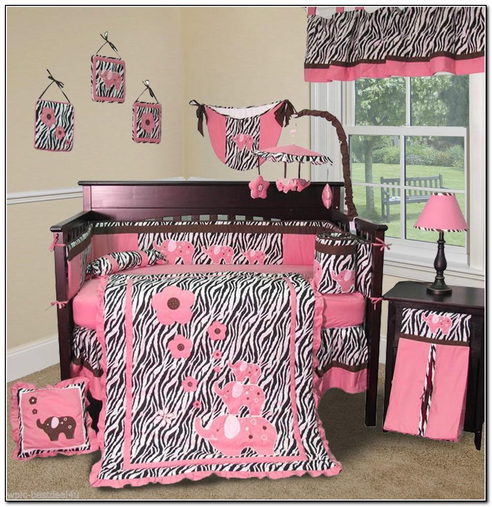 Zebra Crib Bedding Set
