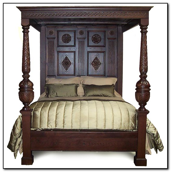 4 Post Bed Plans