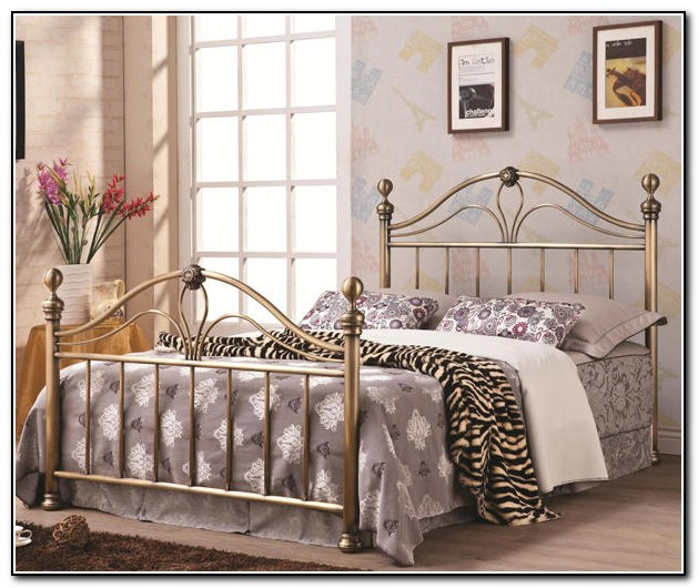 Antique Iron Bed Ebay