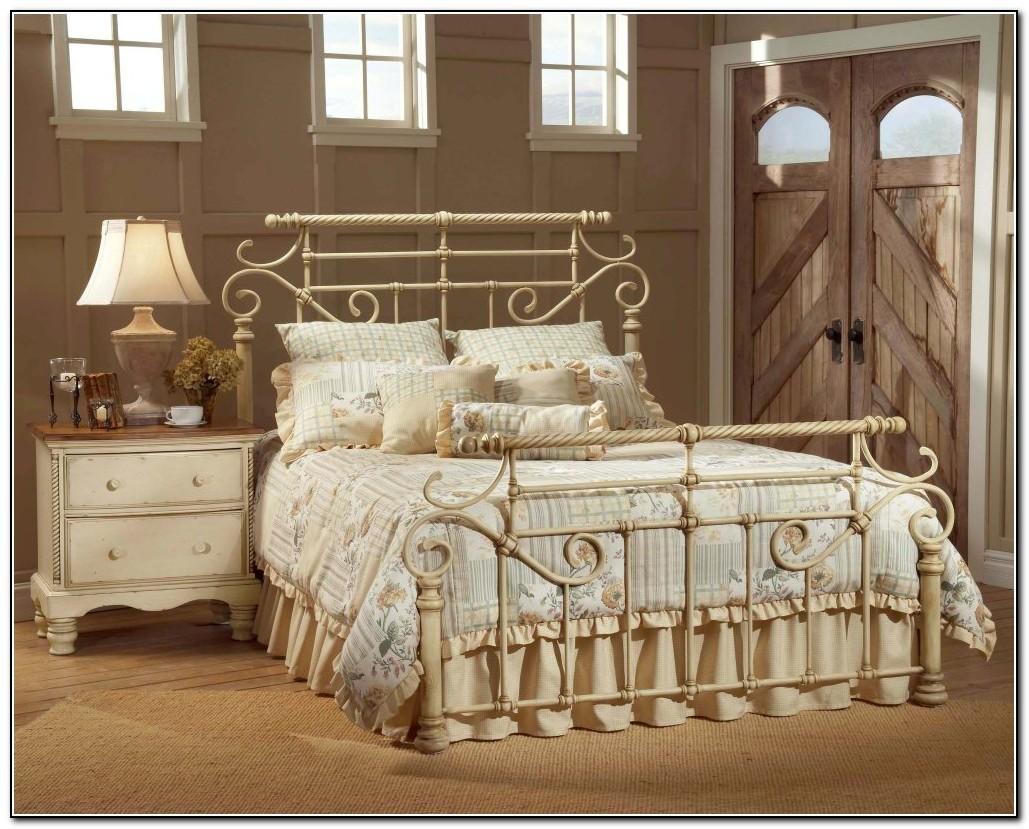 Antique Iron Bed Full
