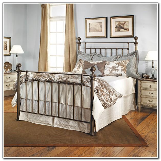 Antique Iron Bed Queen