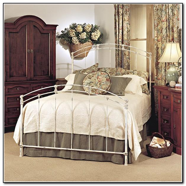 Antique Iron Bed Rails