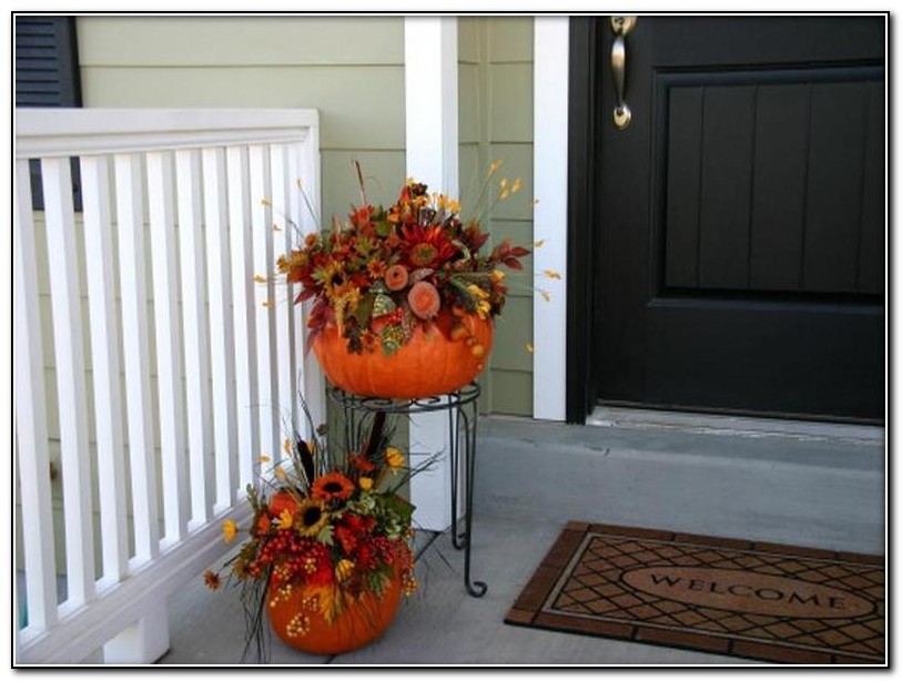Autumn Front Porch Decorating Ideas