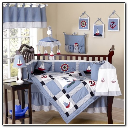 Baby Boy Nautical Crib Bedding