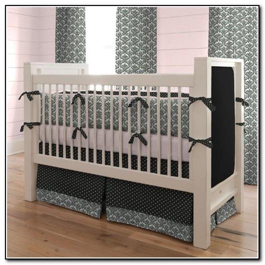 Black And White Baby Bedding Crib Sets