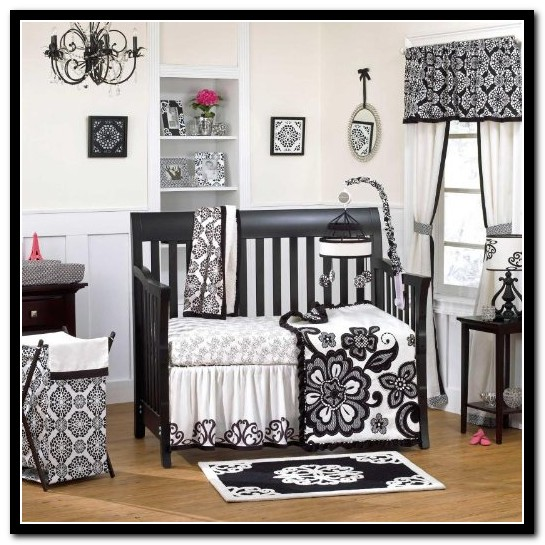 Black And White Baby Bedding Sets