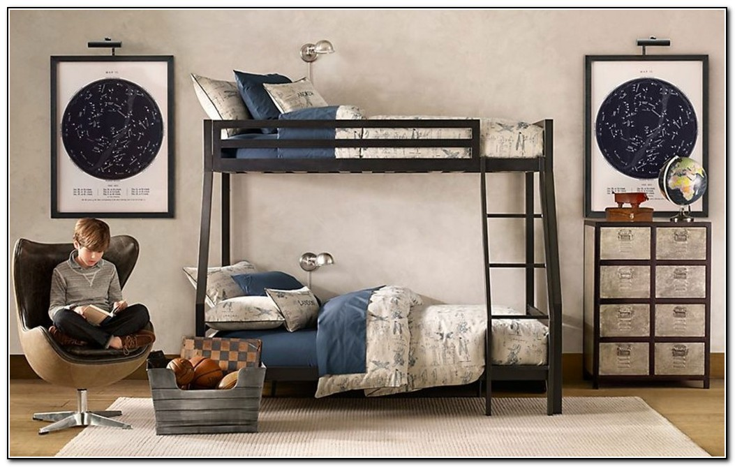 Black Bunk Beds Twin Over Full
