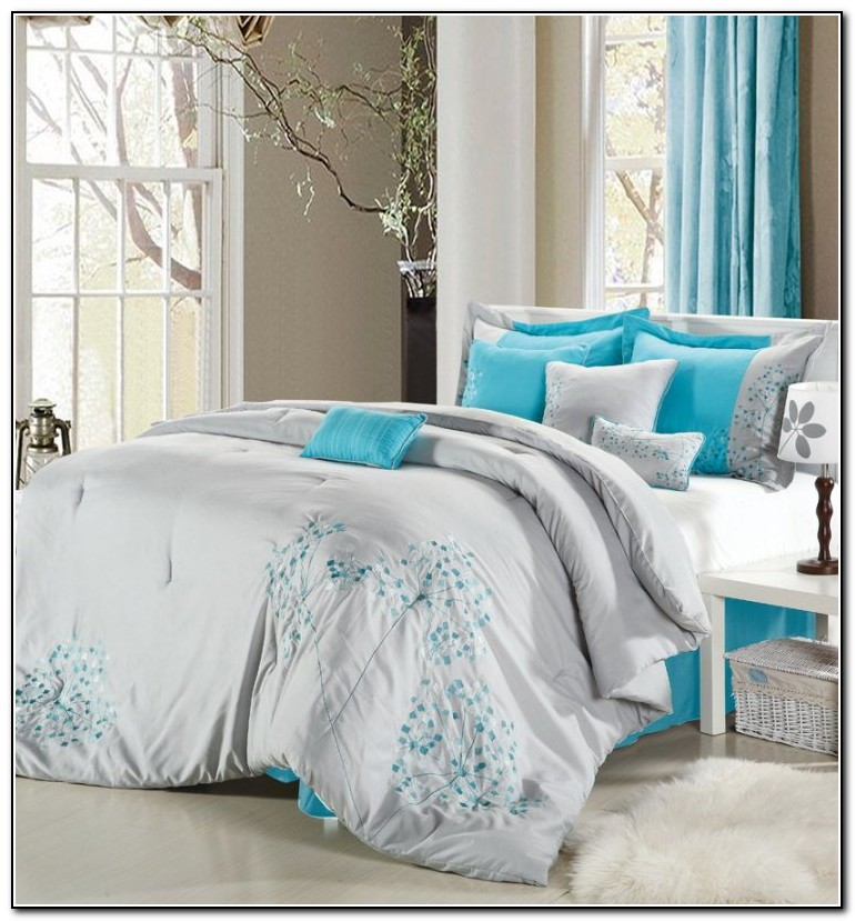 Blue And Gray Bedding Sets