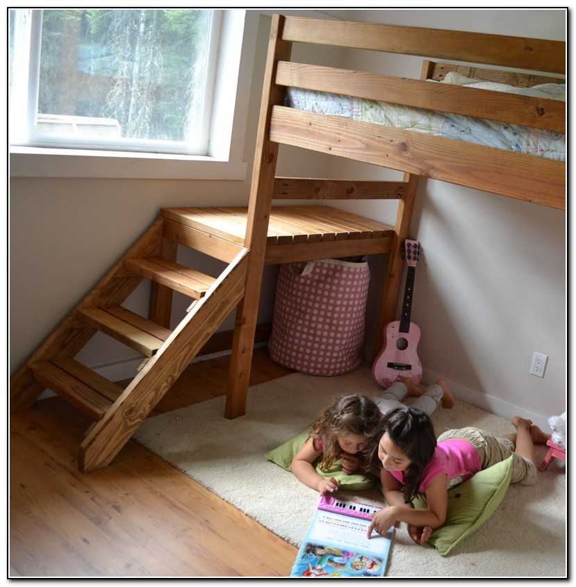 Bunk Bed Stairs Plans Free