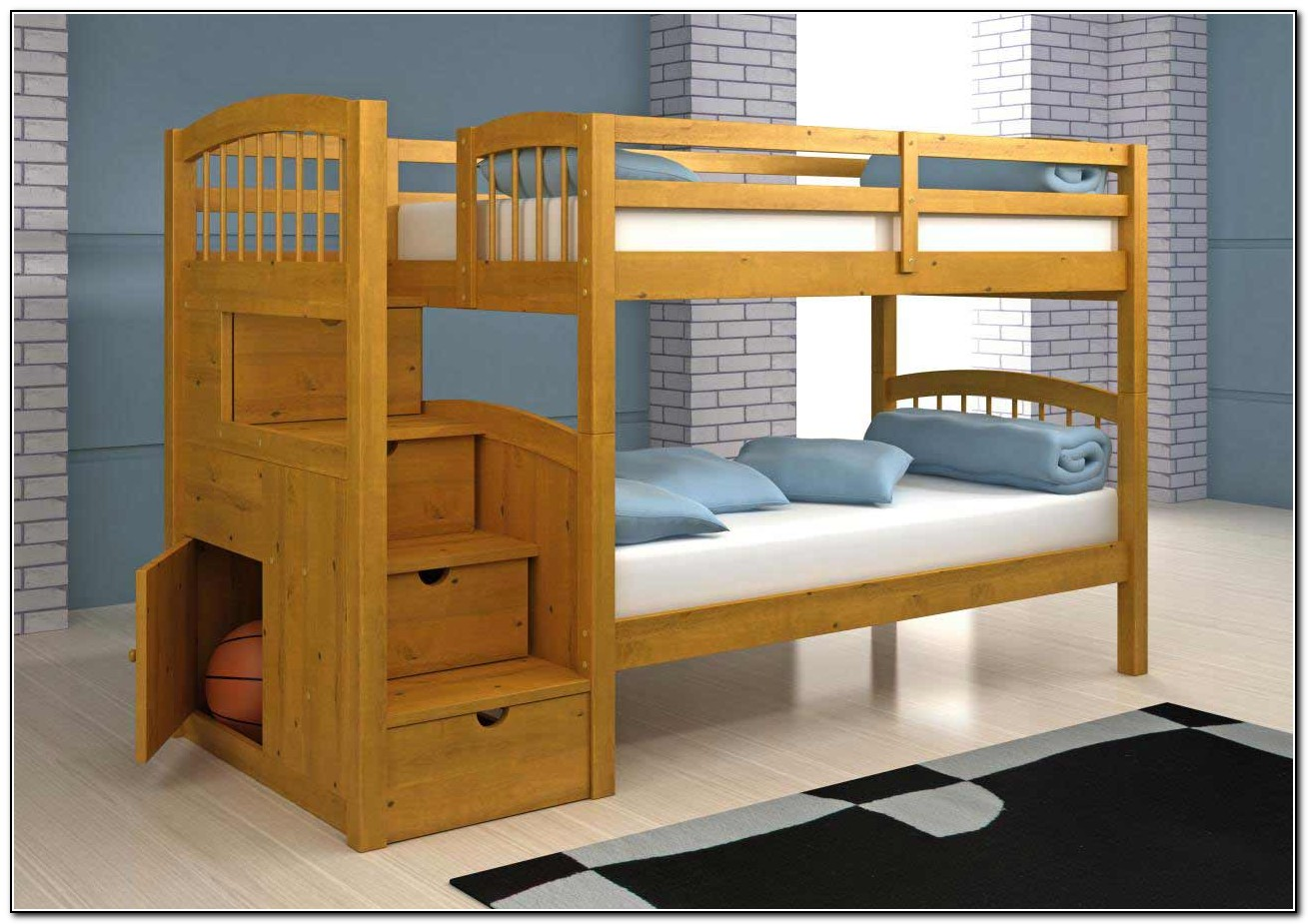 Bunk Bed Stairs Plans
