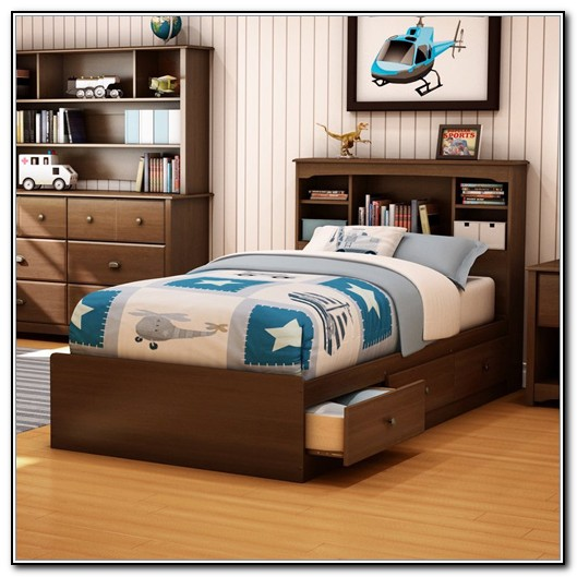 Captain Bed Twin Trundle
