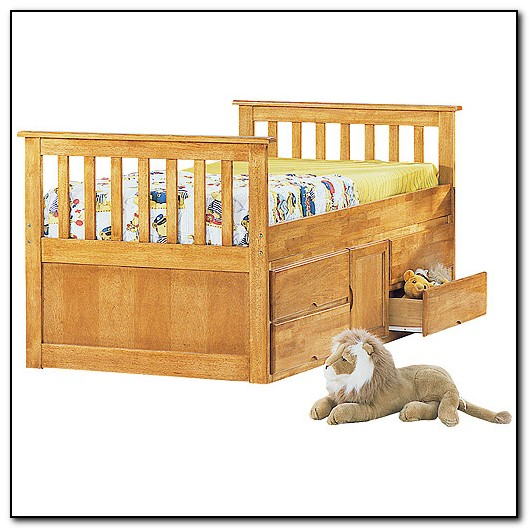 Captain Bed Twin With Storage