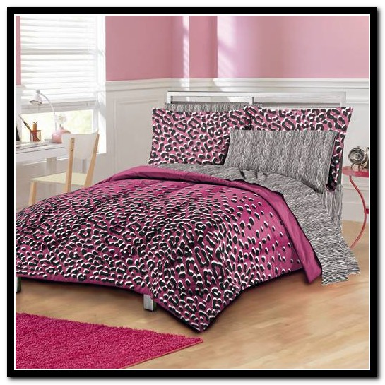 Cheetah Print Bed Set Twin Xl
