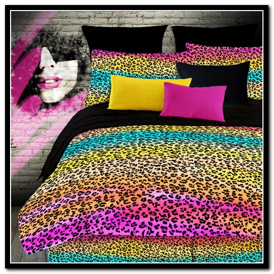 Cheetah Print Bed Set Walmart