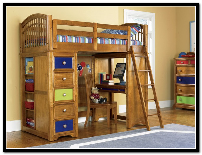 Childrens Loft Beds With Desk